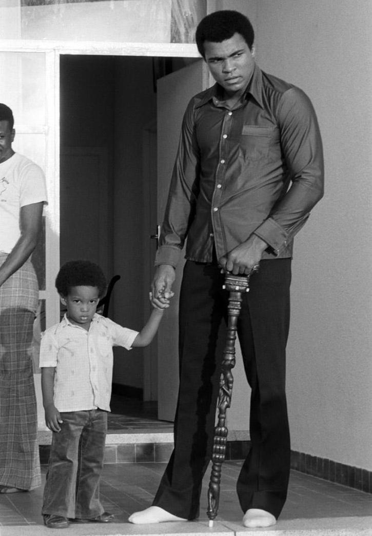 Muhammad Ali's Son Leaves His Wife And Children After ...