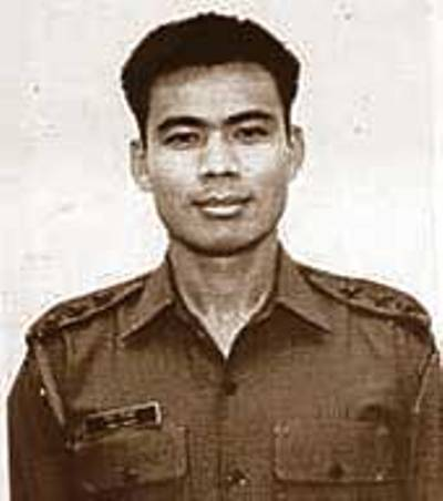 Captain Jintu Gogoi