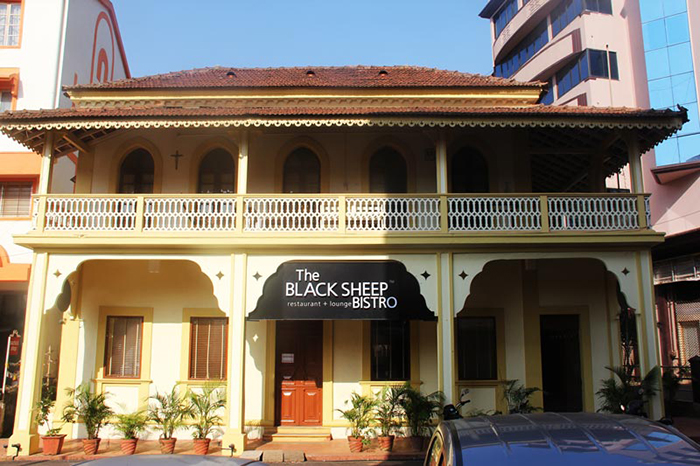 Black Sheep Bistro in Goa