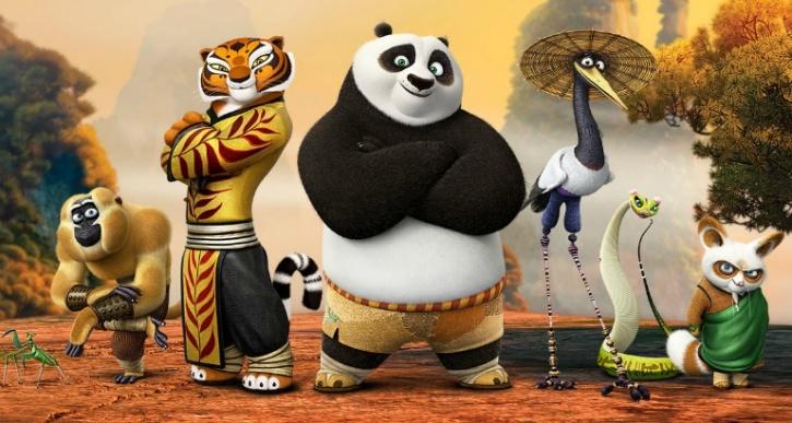 1. Kung Fu Panda