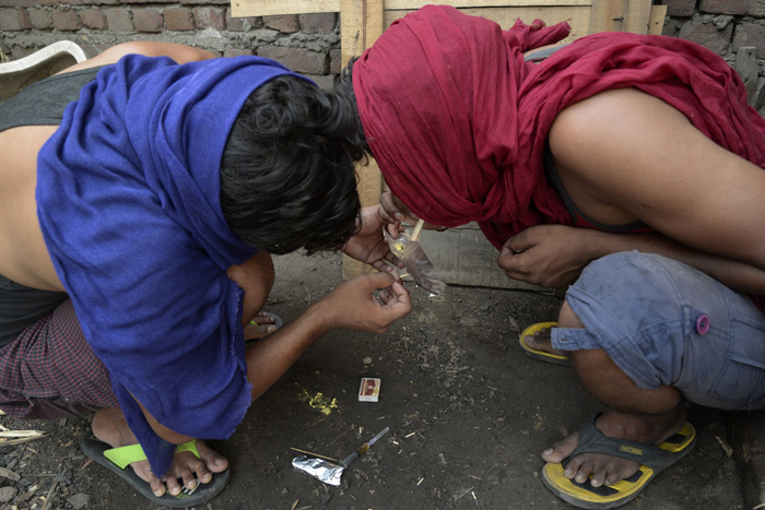 drug addiction a termite in punjab