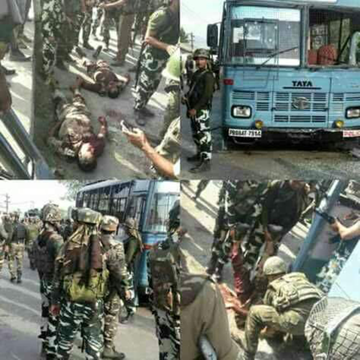 Deputy Killed 4 Others Wounded In Ambush Attack: Pompore Attack: Terrorists Ambush CRPF Convoy, 8 Brave