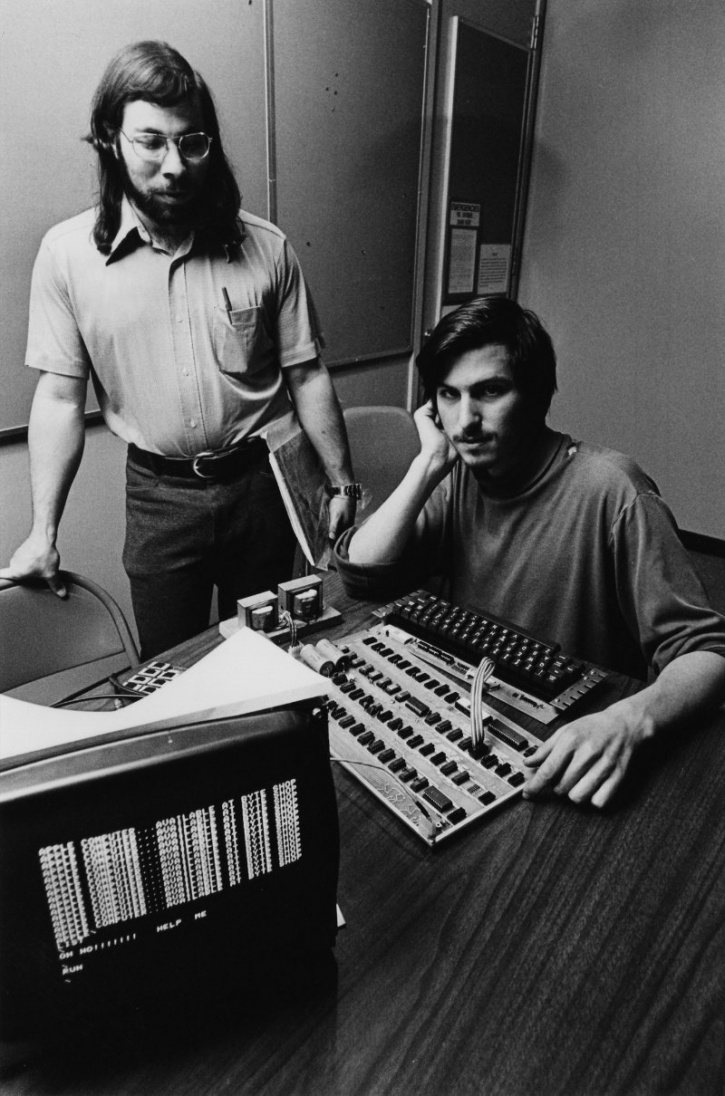 Image result for steve jobs and steve wozniak