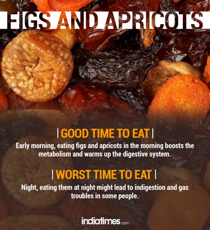 Figs and apricots