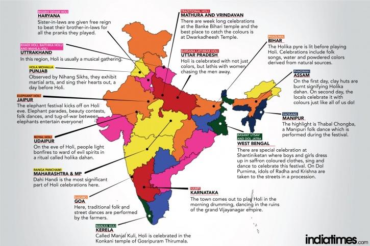 Holi Map