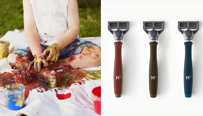 how to clean out a razor