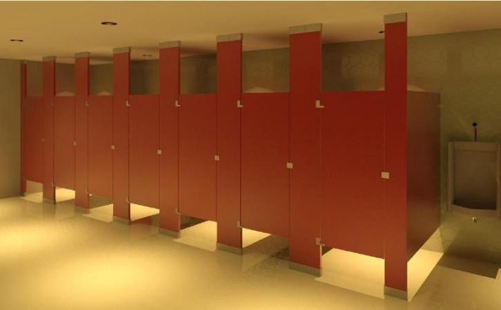 Bathroom Stalls With Doors ever wondered why toilet stall doors don't go all the way down to