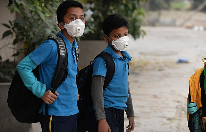 Kids with Mask