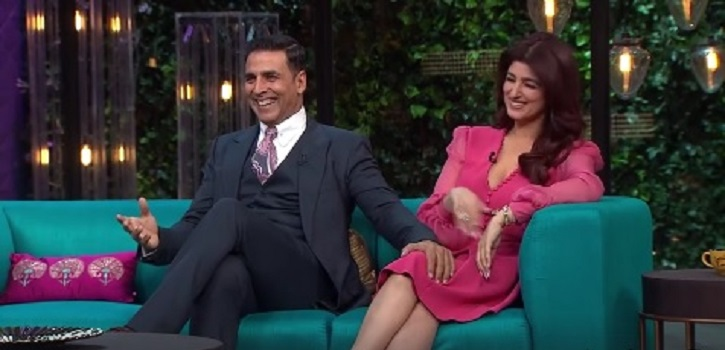 Image result for akshay twinkle koffee with karan