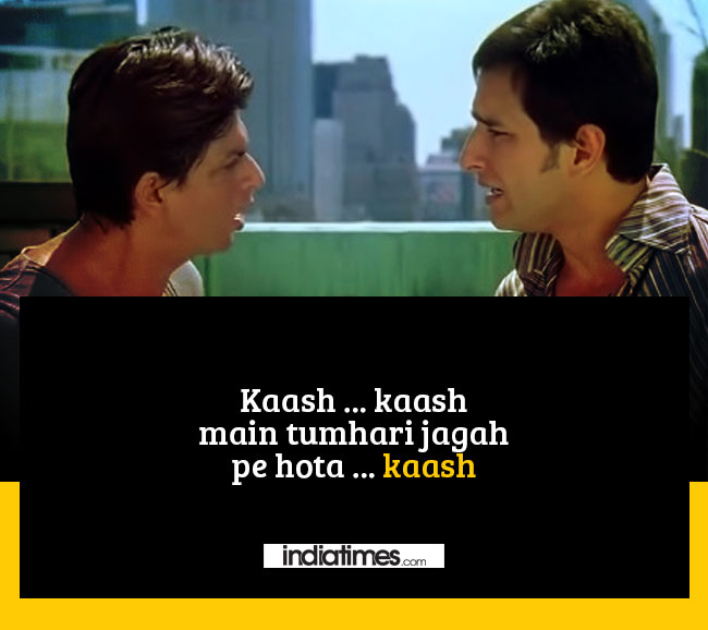 12 beautiful dialogues from kal ho naa ho that will