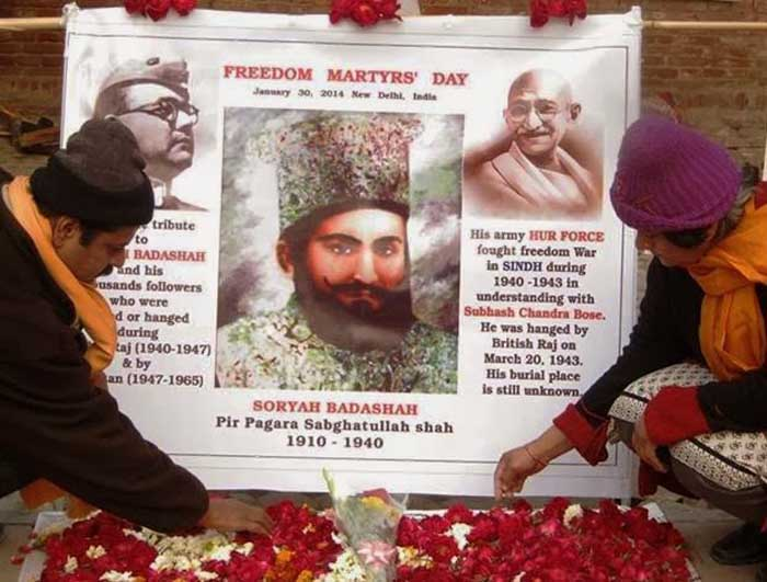 Zulfiqar Siyal Shah and his wife Fatima Siyal Shah