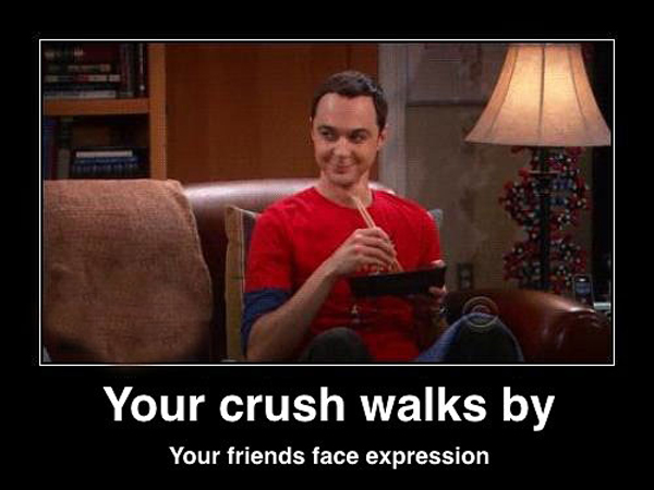 Funny Memes For Your Crush : 7 memes that perfectly capture your reaction after you spot your