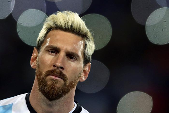 Messi Fifa 14 Card Blonde Lionel Messi St...