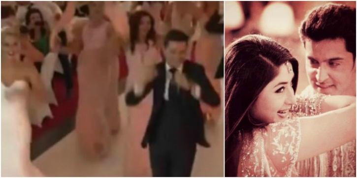 English Couple Dancing On S Bole Chudiyaan On Their Wedding