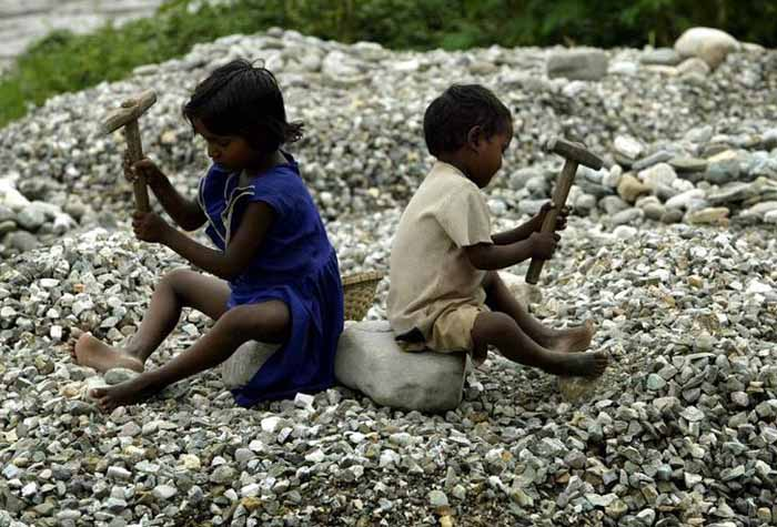 crore n kids don t go to school lakh are forced to  child labour