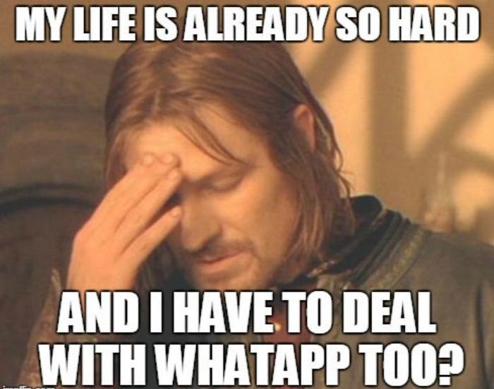 what_1474451636 got your annoying chats on mute? whatsapp's new update will send,Whatsapp Meme