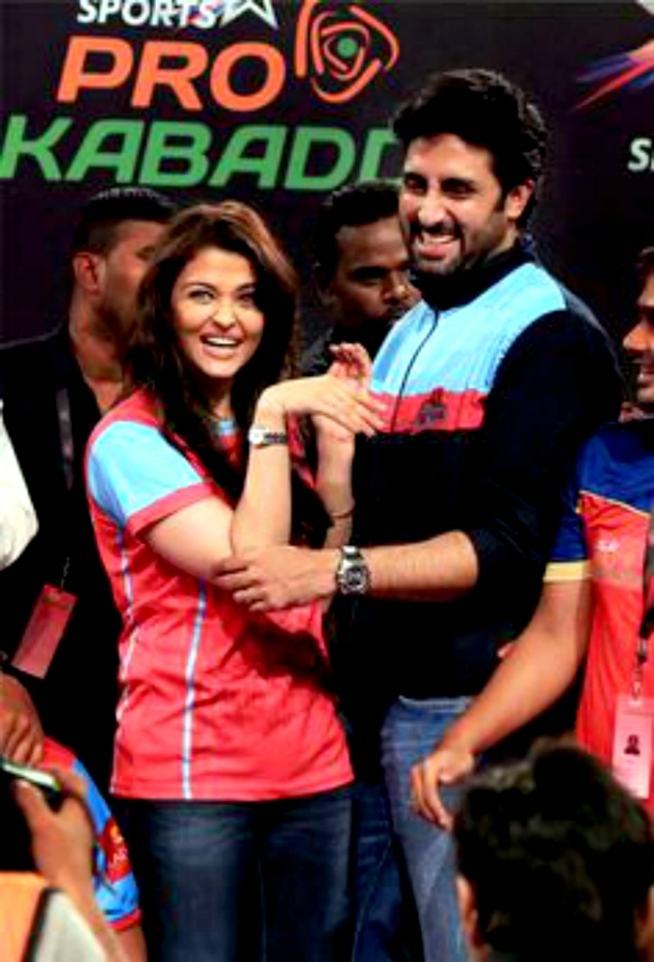 Abhishek Bachchan and Aishwary