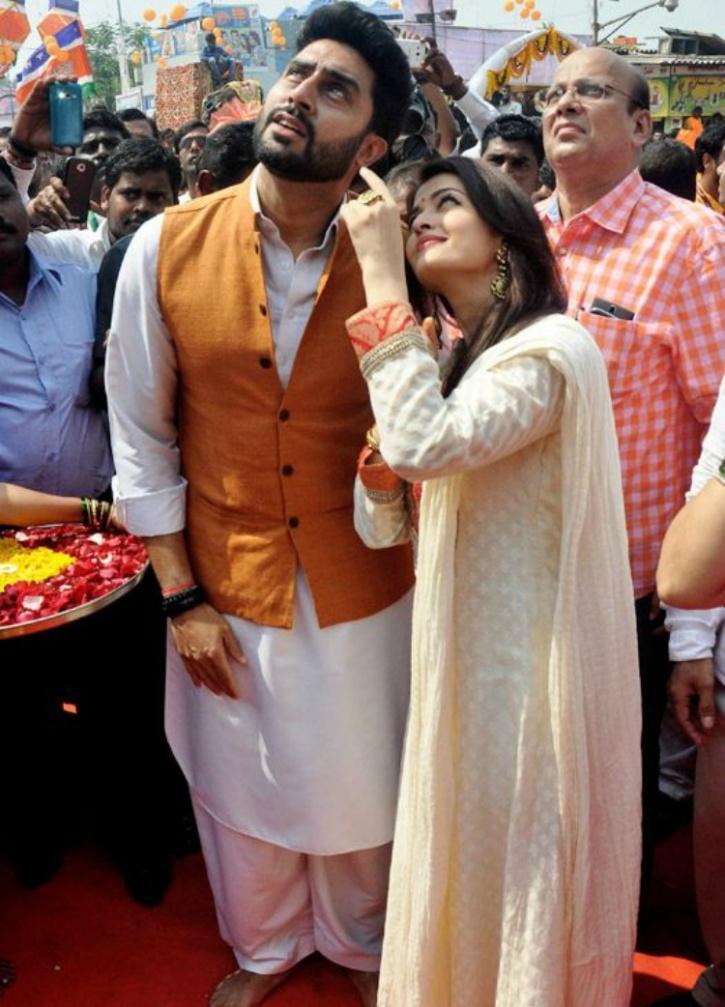 Abhishek Bachchan and Aishwarya