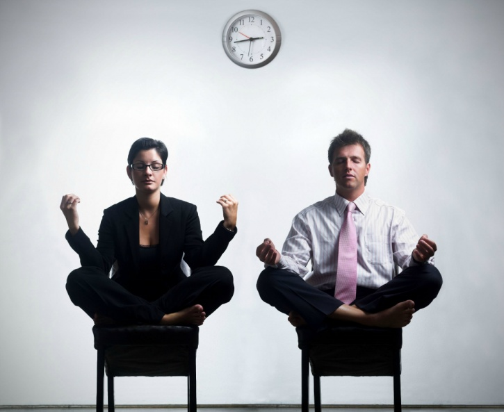 use breathing techniques at work to beat stress