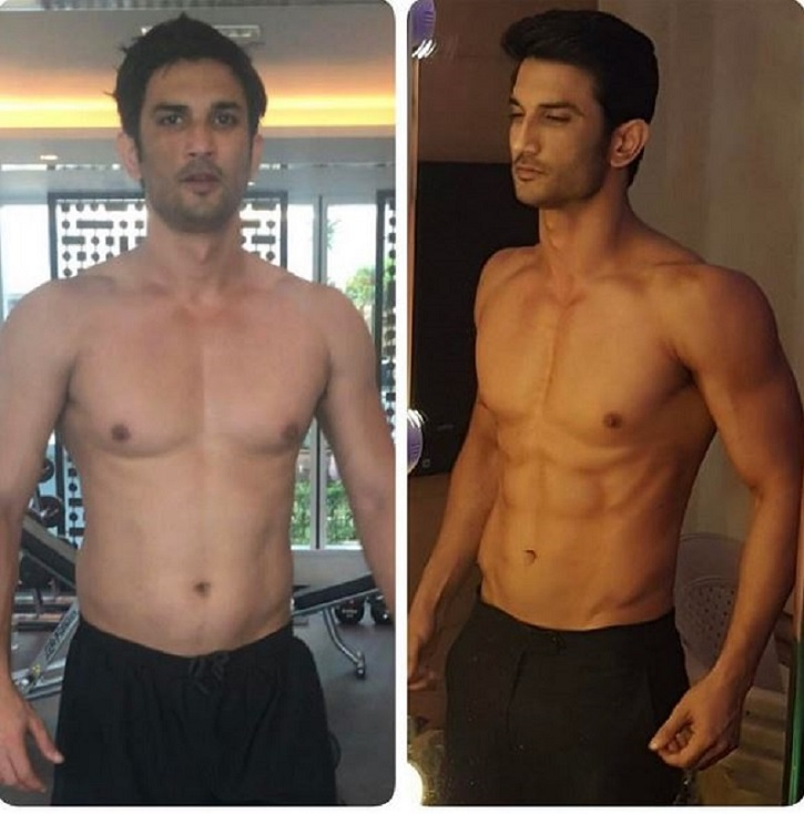 8 Weeks, 8 Pack Abs! Sushant Singh Rajput's Shocking ...