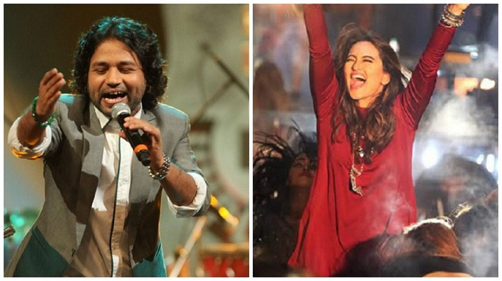 Image result for Sonakshi Sinha and kailash kher