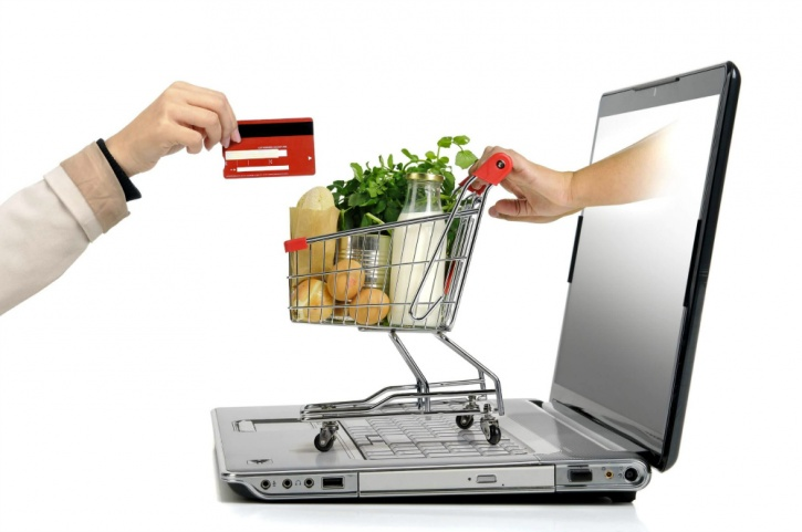 grocery shop online to save time