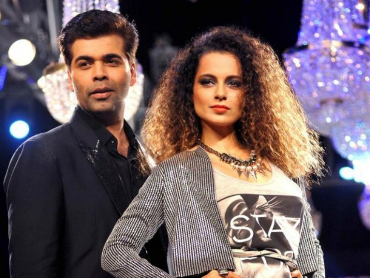 KJo and Kangana
