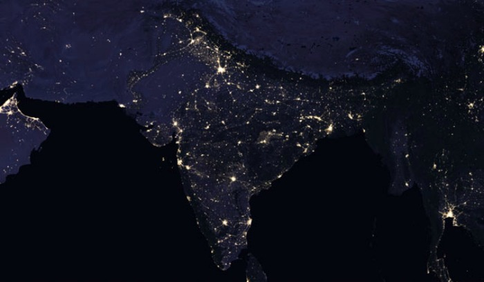 Nasa releases images of india as seen from space at night and they nasa sciox Choice Image