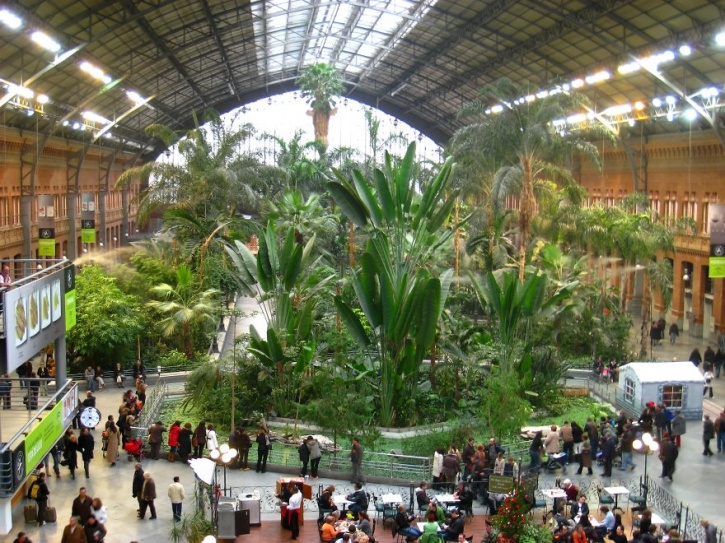 Atocha, Madrid, Spain