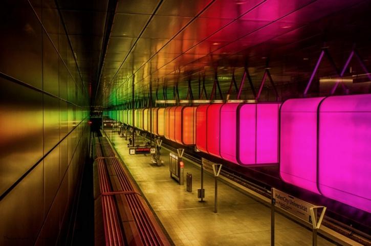 Hamburg Hafencity Metro