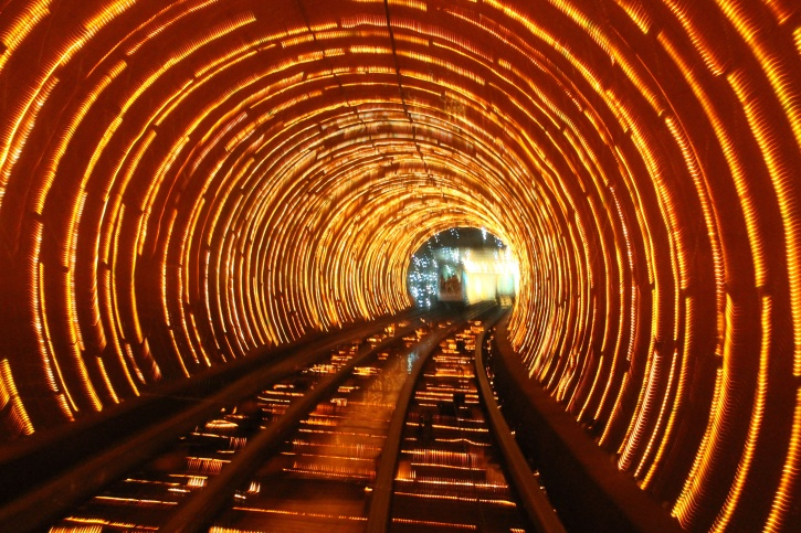 Bund Sightseeing Tunnel, Shanghai, China