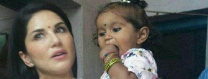 Baby girl who was adopted by sunny leone was turned down by 11 sunny ccuart Choice Image