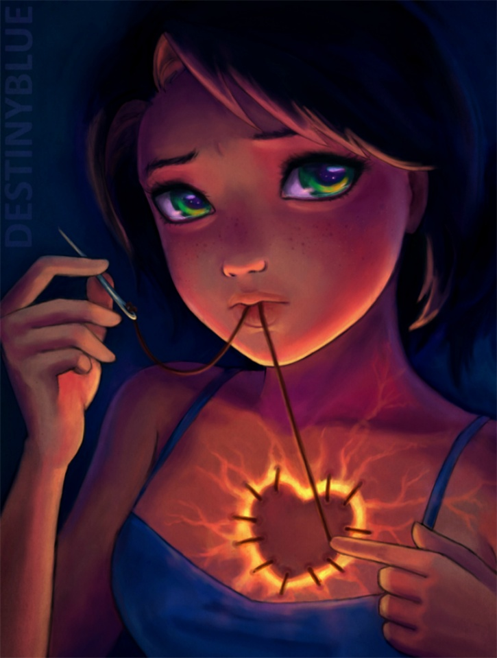 11 Illustrations With Deep Meaning Created By An Artist ...