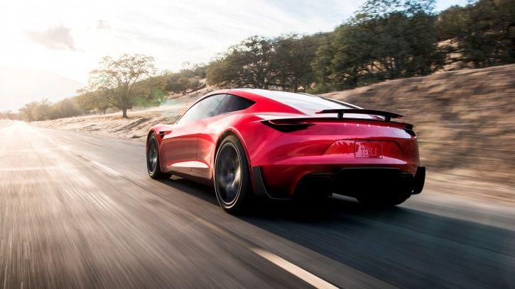 Tesla Red Roadster