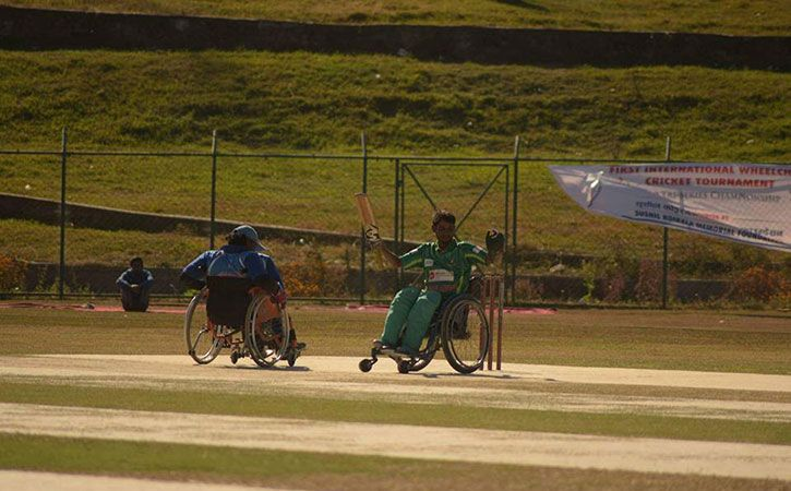 The First Wheelchair Cricket Tournament Just Got Underway In Nepal