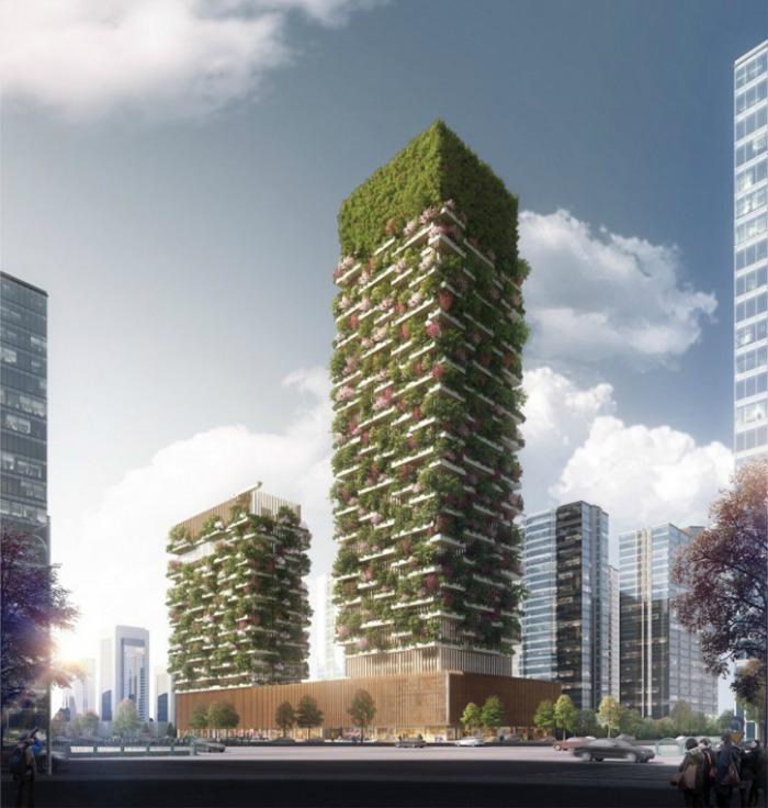 Nanjing Towers