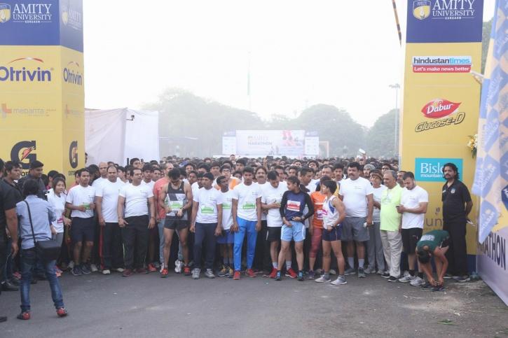 The Amity Gurgaon run