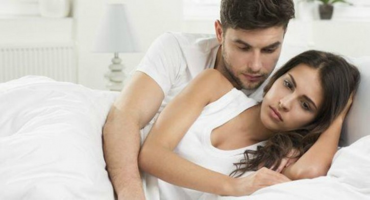 Lack of sex drive, due to long duration without sex