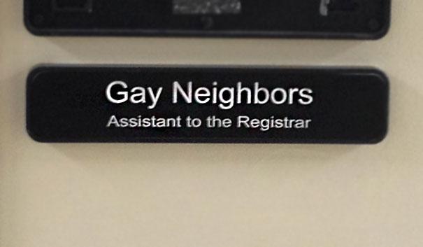 gay neighbours
