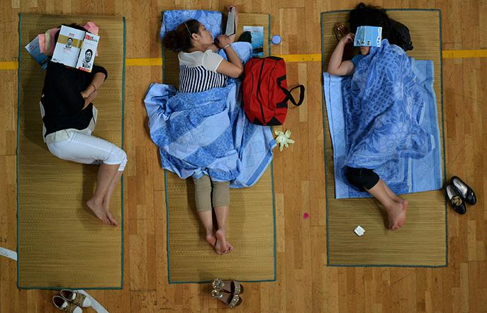 Womens Sleeping