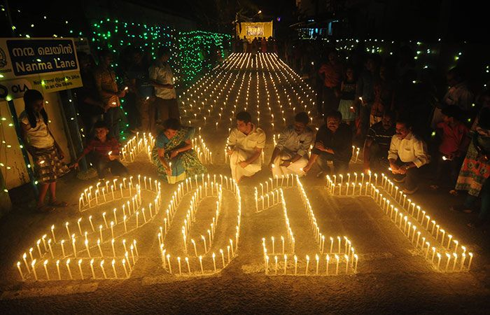 New Year Celebration in India