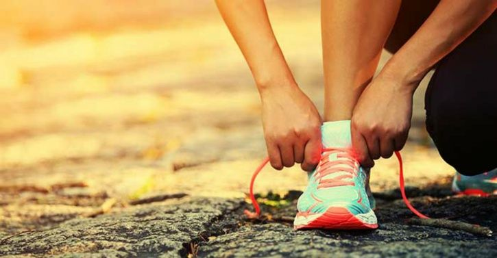 Running shoes are all you need