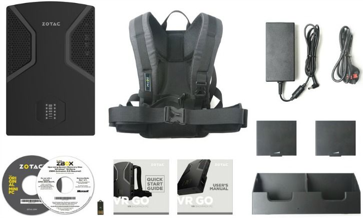 The Zotac VR GO Squeezes A Gaming PC In A Backpack & It's Loads Of Fun