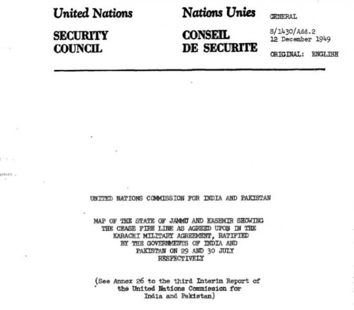 Today In 1949 An Agreement On Loc Ceasefire Was Drawn Which India