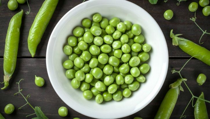 Peas have about eight grams of protein per cup. As a staple you can add them to anything; ranging from salads to curries to stews and soups.