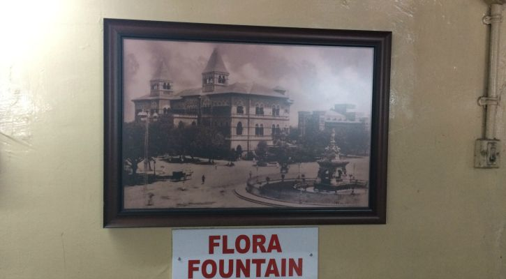 Pictures of Mumbai when it was Bombay hang on the walls of this quaint restaurant