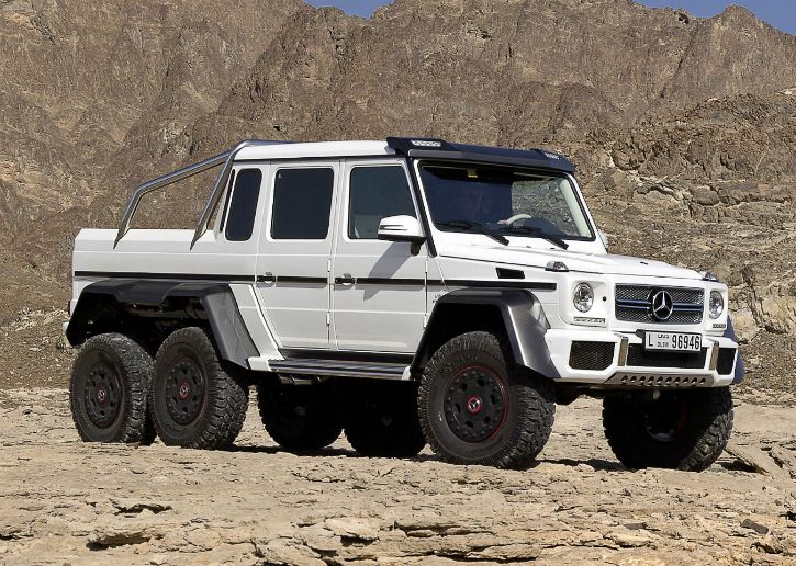 Students make rs 3 2 crore mercedes g 63 amg 6x6 clone for for Mercedes benz amg 6x6 price