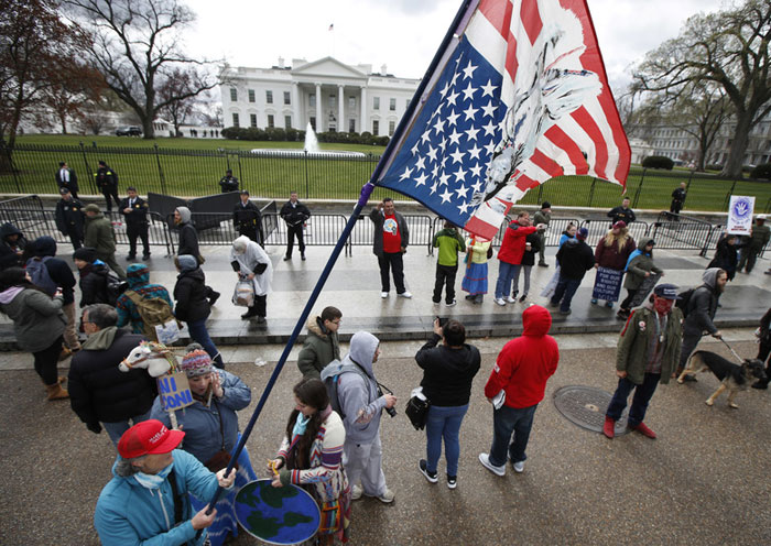 Indian Americans Rally