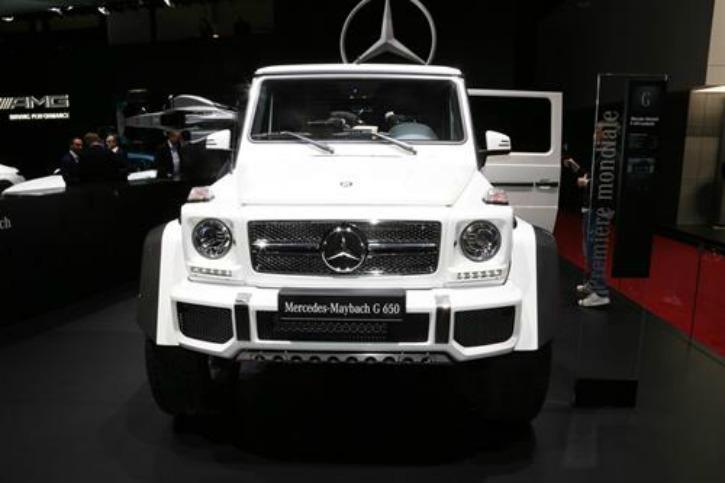Mercedes-Maybach G 650 Landaulet price
