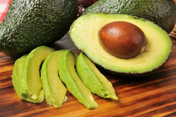 Naturally occurring saturated fats in Avocados